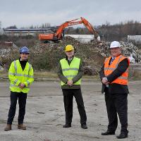 Work begins to clean up abandoned waste site