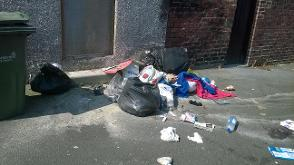 Two residents fined for fly-tipping